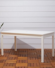 Bradley Outdoor Rectangular Patio Dining Table