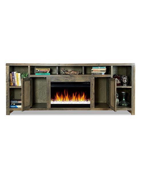 """Legends Furniture Joshua Creek 84"""" Super Fireplace"""