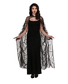 BuySeasons Women's Chiffon Cape Adult Costume