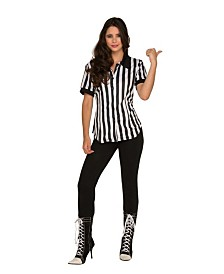 BuySeasons Women's Referee Shirt Adult Costume