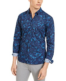 Men's Extra-Slim Floral Shirt