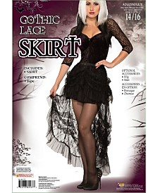 BuySeasons Women's Gothic Lace Skirt Adult Costume
