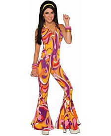 BuySeasons Women's Funky Jumpsuit Lady Adult Costume