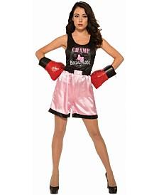 BuySeasons Women's Pink Boxer Adult Costume