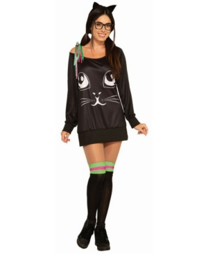Women's Ed Kitty Adult Costume