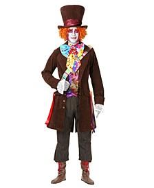 Men's Mad Hatter Plus Adult Costume
