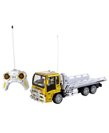 Trademark Global Remote Control Flatbed Truck