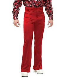 BuySeasons Men's Disco Pants Red