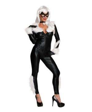 Women's Marvel Women's Sassy Black Cat Adult Costume