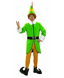 Men's Buddy The Elf Deluxe Adult Costume