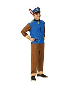 Men's Paw Patrol Chase Adult Jumpsuit Adult Costume