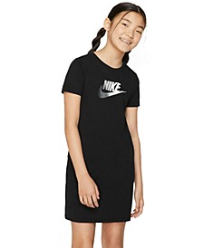 Big Girls Sportswear Cotton T-Shirt Dress