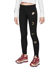 Nike Big Girls Air Leggings