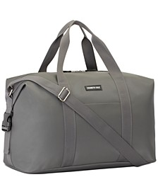 Receive a Free Duffel Bag with any large spray purchase from the Kenneth Cole Men's fragrance collection