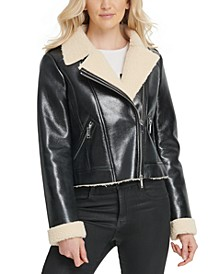 Faux-Shearling Jacket