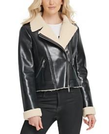 DKNY Faux-Shearling Jacket