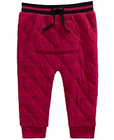 First Impressions Baby Boys Quilted Jogger Pants, Created For Macy's