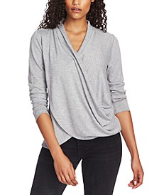 Cross-Front Cozy Top