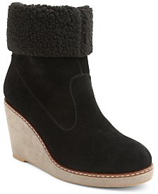 Kensie Holliston Wedge Booties
