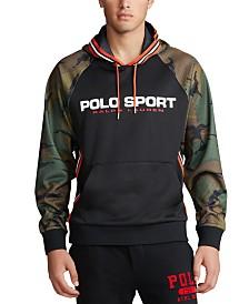 Polo Ralph Lauren Men's Polo Sport Retro Camo Double-Knit Hoodie