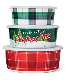 Nesting Food Storage Containers, Set of 3, Created For Macy's