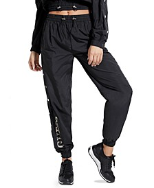 Sasha Snap-Button Jogger Pants