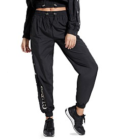 GUESS Sasha Snap-Button Jogger Pants