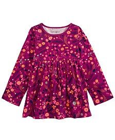 First Impressions Baby Girls Cotton Floral-Print Tunic, Created For Macy's