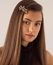Floral Crystal Barrette