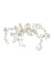 Soho Style Sparkling Boho Floral Bridal Hair Crown