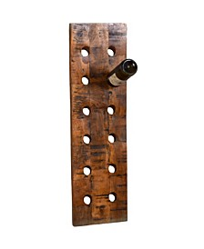 Wine O 12 Standard Wine Bottle Rack in Vertical Orientation Finished in Rich Look