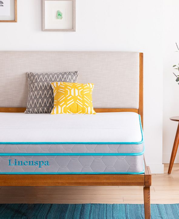 "Linenspa Collection10""Alwayscool Memory Foam Hybrid Mattress, Twin"