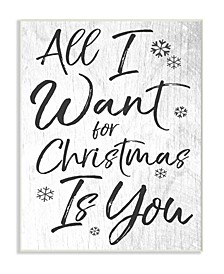 All I Want For Christmas is You Wall Art Collection
