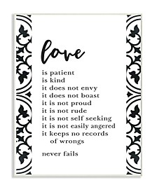Love Is Patient Love Is Kind Wall Art Collection