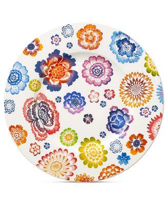 Villeroy & Boch Dinnerware, Anmut Bloom Salad Plate