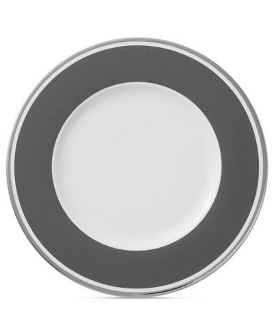 Villeroy & Boch Dinnerware, Anmut Colour Rocky Grey Salad Plate
