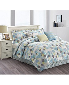Dolly 7-Piece Comforter Set - Queen