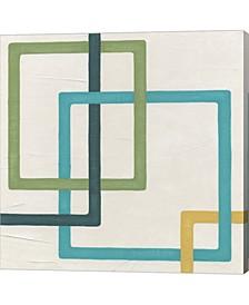 "Infinite Loop II by June Erica Vess Canvas Art, 24"" x 24"""