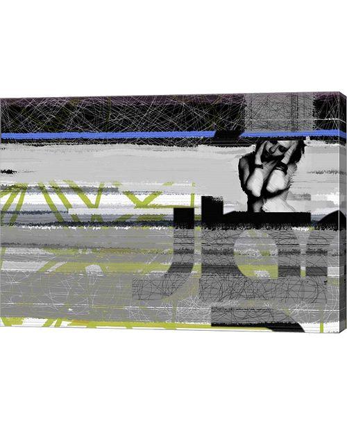 "Metaverse Drama by Naxart Canvas Art, 28"" x 20"""