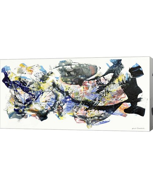 "Metaverse Senza Titolo 2012, I by Nino Mustica Canvas Art, 32"" x 16"""