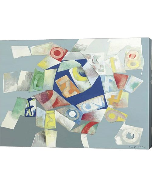 "Metaverse Gioco Dell'oca 7 by Nino Mustica Canvas Art, 26.5"" x 20"""