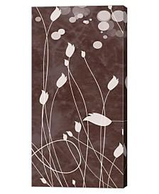 "Metaverse Botany Expressions VIII by Irena Orlov Canvas Art, 12"" x 24"""