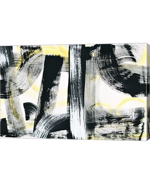 "Metaverse LPs in 33 Light Yellow by Sue Schlabach Canvas Art, 30"" x 20"""