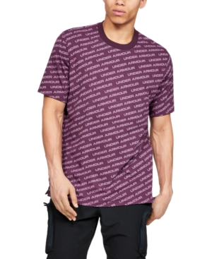Under Armour Men's Unstoppable Wordmark T-Shirt In 520 Kineti