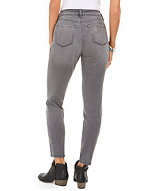 Style & Co Curvy-Fit Skinny Bling Pocket Jeans, Created For Macy's