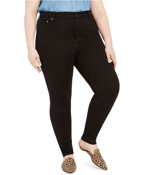 Seven7 Jeans Seven7 Plus Size High-Rise Skinny Jeans