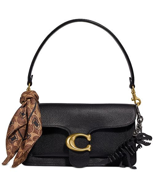 COACH Tabby Leather Shoulder Bag 26