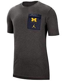 Men's Michigan Wolverines Tech Cool T-Shirt