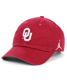 Jordan Oklahoma Sooners Core H86 Easy Adjustable Strapback Cap