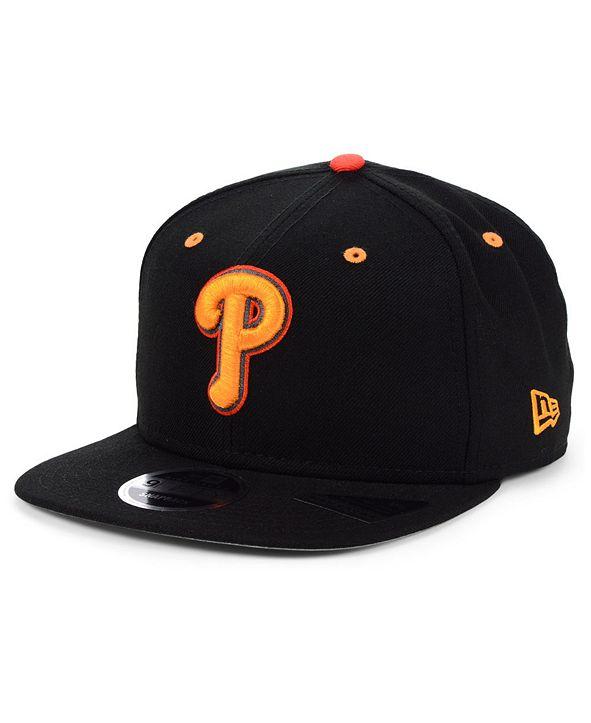 New Era Philadelphia Phillies Orange Pop 9FIFTY Cap